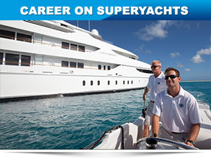 work on superyachts