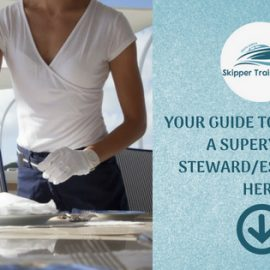 BECOME A SUPERYACHT STEWARD